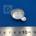 带手柄铝制实验称量盘 铝箔称量盘 称量盘 称量皿 小号 100只/包