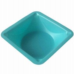 Polystyrene Blue Weighing Boats weighing dishes