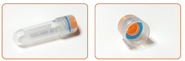 Cell cryotubes Ultra-low temperature tube -196℃- korecotek 1