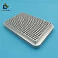 384 well metal aluminum conductive PCR test tube cooling rack