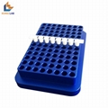 96 well metal aluminum conductive PCR plate test tube cooling rack