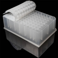 96 Round Well PCR Plate Silicone Sealing Mat PCR Plate Cover 4