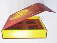 中秋月餅盒手工藝紙盒