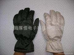 无尘室防静电耐高温手套