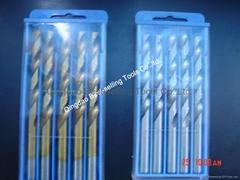 DIN338 Fully Ground Twist Drills