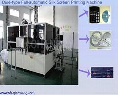 Automatic ruler silk scr