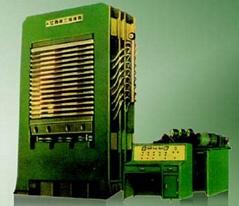 BY21 系列橫向框架式熱壓機