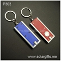 advertising led flashlight keychain