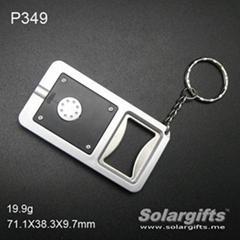 LED flashlight/LED torch light keychain bottle opener/LED keychain P349