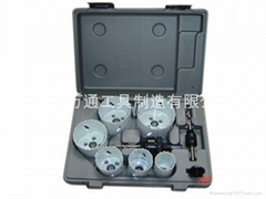 9PC HSS Bi-metal Hole Saw Set