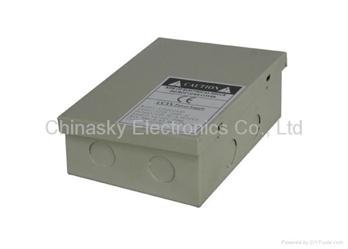 12VDC 2Amp 4 Channel CCTV Camera Power Supply Box 12VDC2A4P (12VDC2A4P ) 3