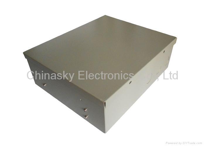 CCTV Camera Power Supply distributor with Battery Backup /UPS (12VDC3.5A4P/B) 3