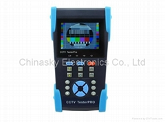 CCTV Dome Camera And All In One Camera Tester , PING Testing , LAN Cable Tester