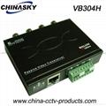 4CH UTP CCTV HD-Ahd/Cvi/Tvi Video Balun with CE RoHS (VB304H)