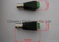 CCTV  Female BNC Connector  to Terminal Screws / Coax Connector (CT121)