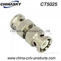 CCTV Double BNC Connector / BNC Male to