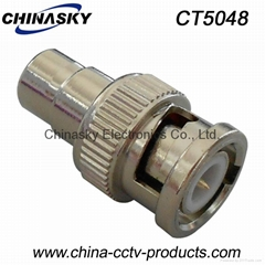 BNC Male  to RCA Female Connector / BNC to RCA Connector / BNC Connector CT5048