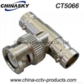 BNC Male Connector to 2 BNC Female Connector CT5066