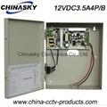 CCTV Camera Power Supply distributor with Battery Backup /UPS (12VDC3.5A4P/B) 2