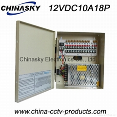 CCTV Power Supply Distribution Unit 12VDC10Amp18channel