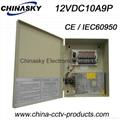 CCTV Power Supply 12V 10A9 Channel(12VDC10A9P)