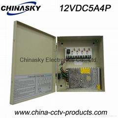 CCTV Camera Power Supply Box 12V 5A4channel(12V5A4P)