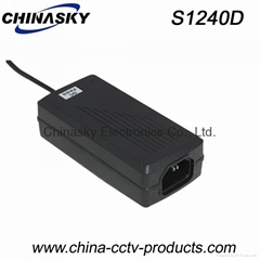 CCTV Power Supply 12VDC 3A Switching Mode, Desktop