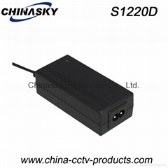 CCTV Power Adapter 12VDC 2A Switching Mode, Desktop