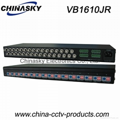 16 Channel Active Video Balun / Video Receiver with Spring Joins Terminal VB1610