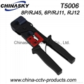 Multi-function Hand Crimping Tool / Cutter-Stripper-Crimper(T5006)