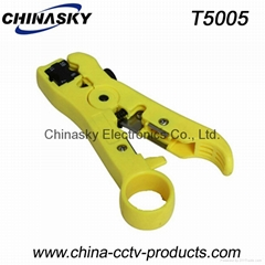 Universal Coaxial Cable Stripper / Cable Stripping Tool (T5005)