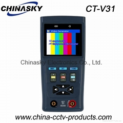 "2.8"" LCD Display, CCTV PTZ Camera Tester with Digital Multimeter (CT-V31)"