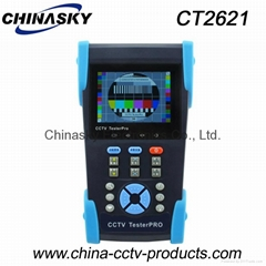 IP Security Portable CCTV LCD Monitor Tester , TDR Cable Tester ,Visual Fault Lo