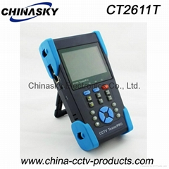 "3.5"" CCTV Tester With Optical Power Meter / Ping IP / POE Test / 4G SD Card"