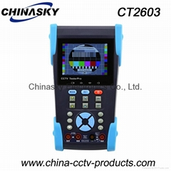 Multi-Function CCTV Tester With IP Address Search , 3.5 Inch Digital Multimeter