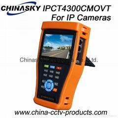 Multi-functional CCTV Tester: Hdcvi/Tvi/Ahd/Sdi/IP Camera Tester IPCT4300