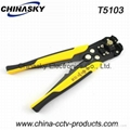 Handle Multi-Function Automatic Coaxial Cable Cutter and Stripper (T5103)