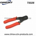 Network Cut Tool for CATV Coaxial Cable (T5206)