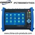 "7"" CCTV Tester: IP, AHD, TVI and CVI CCTV Tester (IPCT8600MOVTHDA)"