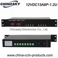 12V DC 13A LED Display Rack Mount CCTV  Power Supply (12VDC13A8P-1.2U)