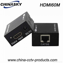 60m HDMI Extender 0ver single cat-5e/6e Cable(HDMI60M)