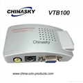 VGA to Vido and S-Video Converter for CCTV (VTB100)