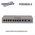 8 Poe 11ports  CCTV POE Switch (POE0830-2)