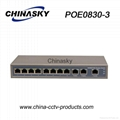 11 port Fast Gigabit CCTV POE Switch (POE0830-3)