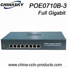 8 Ports Full Gigabit POE CCTV POE Switch (POE0710B-3)