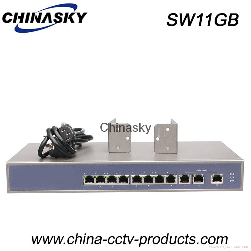 11 Port Enhanced and Rack-Mount Ethernet Switch (SW11GB) 1