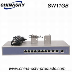 11 Port Enhanced and Rack-Mount Ethernet Switch (SW11GB)