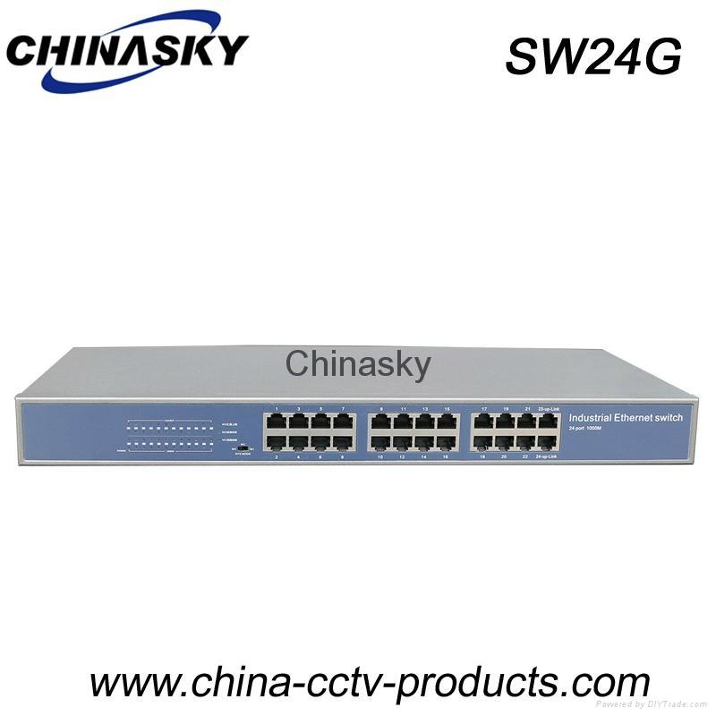 24 Port Enhanced Full Gigabit Industrial Ethernet Switch (SW24G) 1