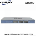 24 Port Enhanced Full Gigabit Industrial Ethernet Switch (SW24G)