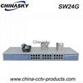 24 Port Enhanced Full Gigabit Industrial Ethernet Switch (SW24G)